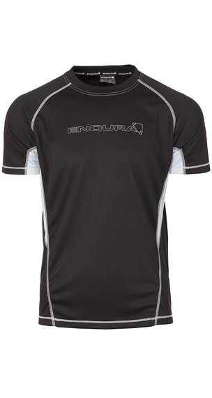 Endura Cairn S/S T-Shirt black/grey
